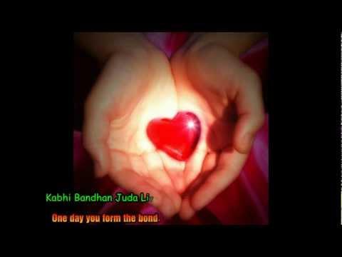 Sab Kuch Bhula DiyaHum Tumhare Hain sanamEnglish transliteration...