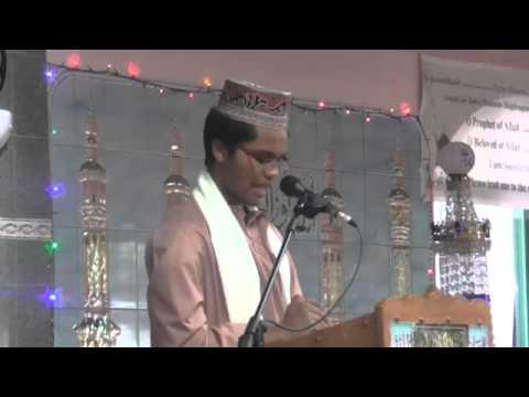 Hafiz Syed Abdullah Nabi speech at Al Mustafa in 2015(part 2)
