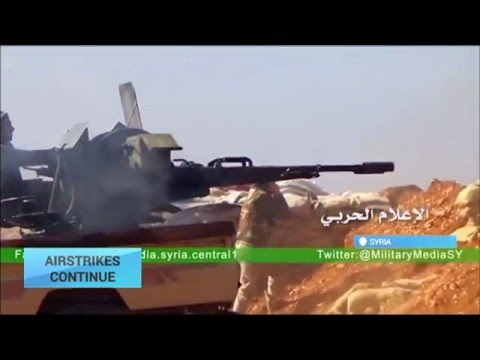 Airstrikes Continue: Russia, Syrian army pound rebels ahead of fighting halt