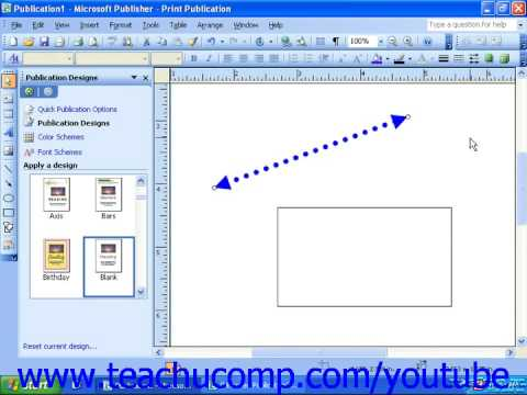 how to add an line in microsoft publisher