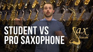 Student Saxophone Vs Professional Saxophone
