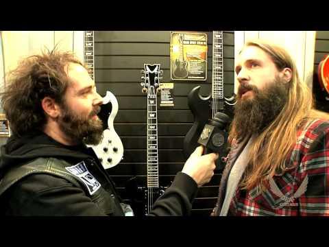 Dean Guitars 2014 N.A.M.M. - Eddie Veliz of Kyng