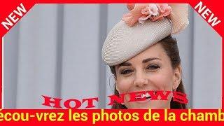 Découvrez les photos de la chambre de Kate Middleton à la maternité