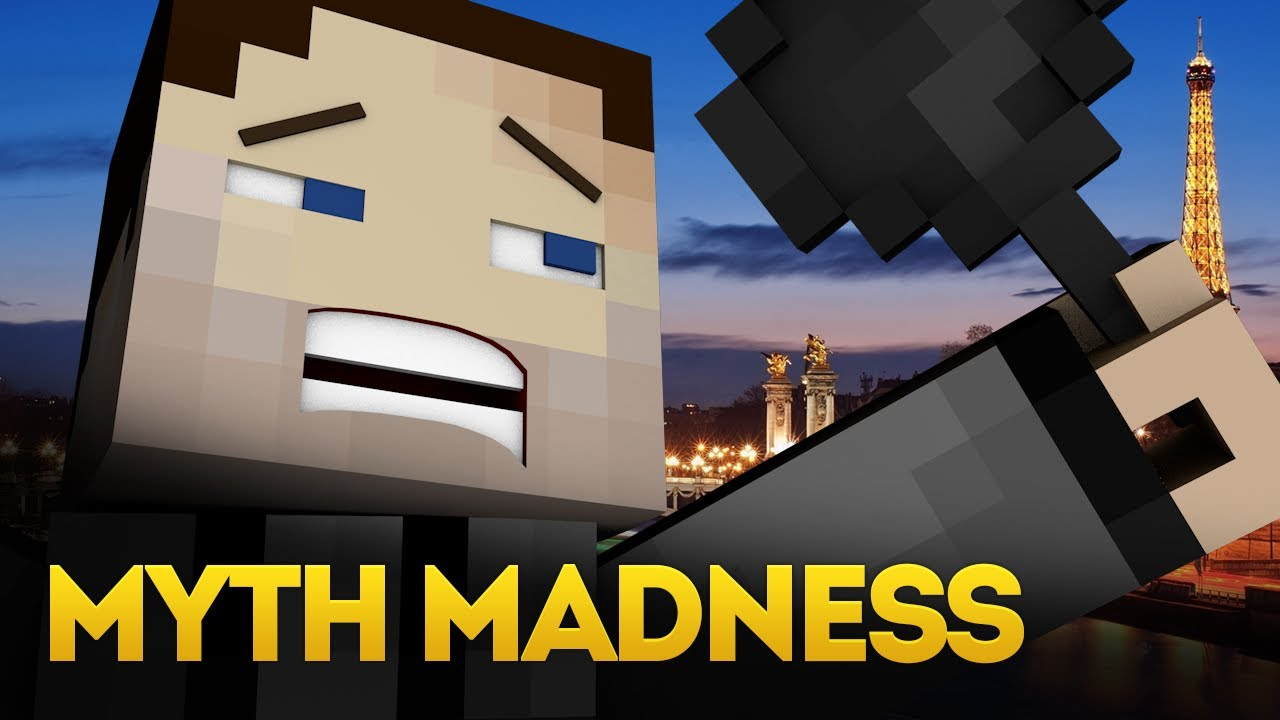 Minecraft Myth Madness Wither Vs TNT TNT Bed Explosive