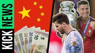 Transfer-Wahnsinn in China! Messi vs. Ronaldo! | KickNews