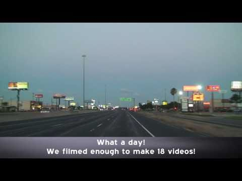 Corpus Christi Texas Highways at Dusk
