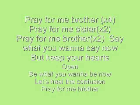 Pray for me brother (Lyrics)-A.R Rahman