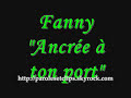 Fanny - Ancrée à ton port (paroles)
