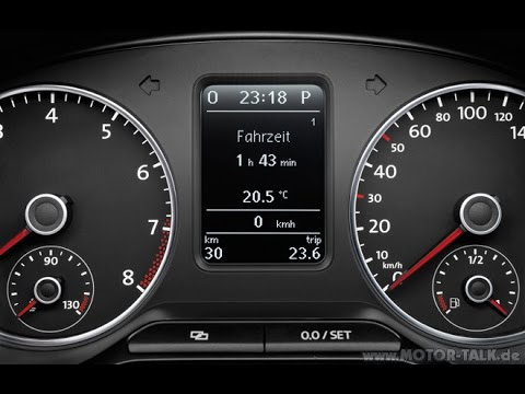 VW Polo 2009-present SERVICE RESET very easy