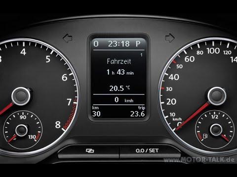 VW Polo 2009-present SERVICE RESET very easy - YouTube