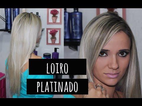COMO FAZER MEU PLATINADO, PASSO A PASSO. Por Tatiana Lobo