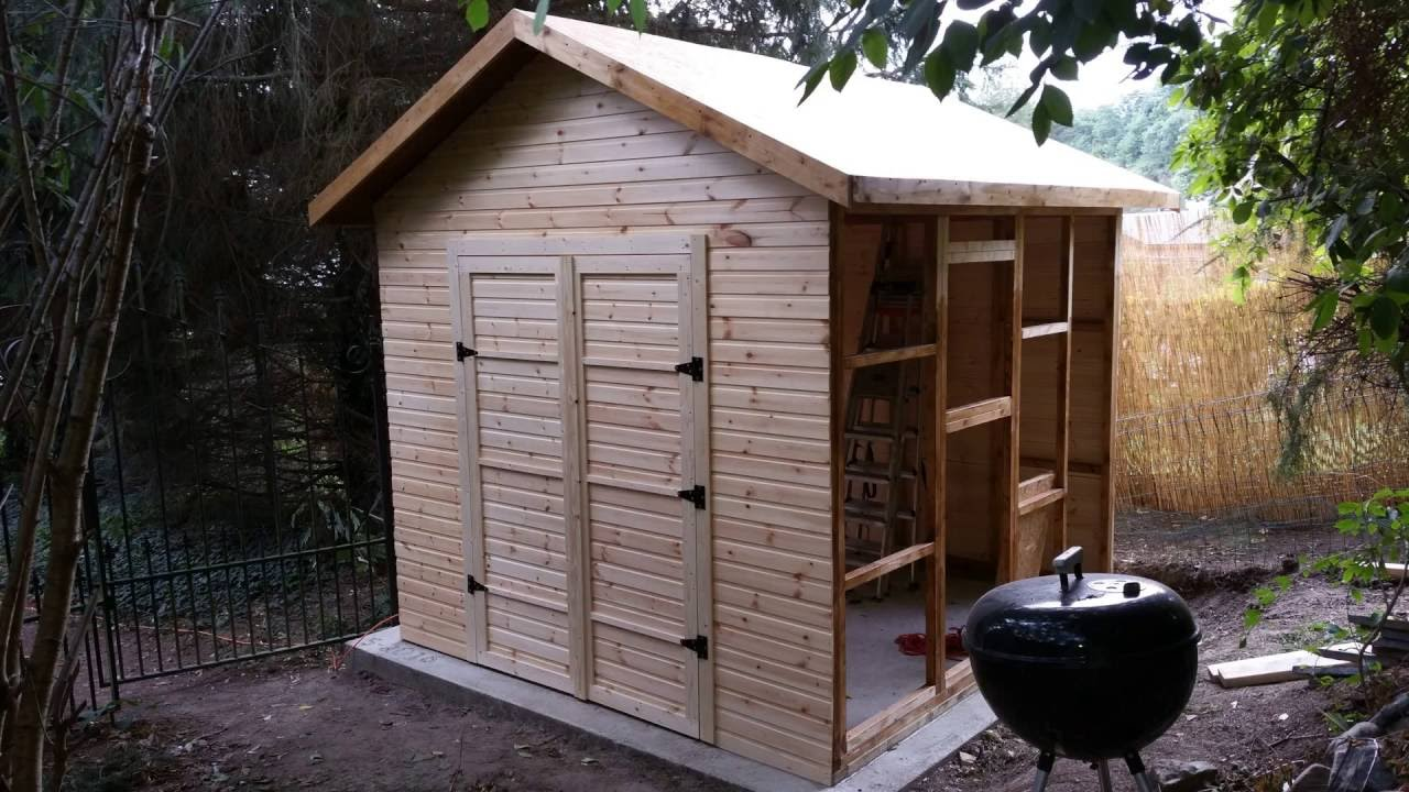 Construction Abris De Jardin Ossature Bois > Construire Un Abris De Jardin Dscnjpg Construire Abri De Jardin