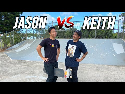 EVERYTHING COUNTS GAME OF SKATE - JASON PARK VS KEITH YAMAGUCHI