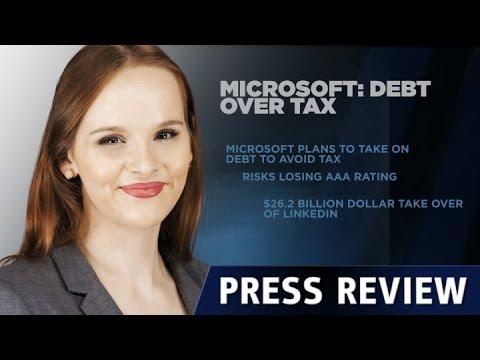 微软贷款收购领英