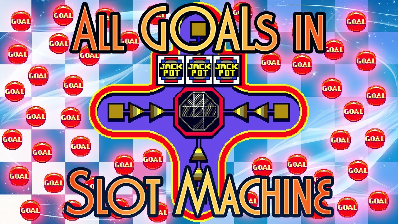 Sonic 3 And Knuckles All Goals In Slot Machine Challenge