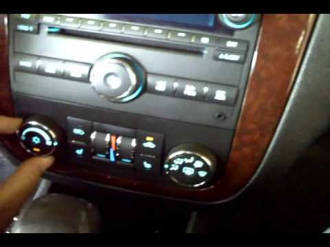 06+ Impala AC tick fix vid.wmv
