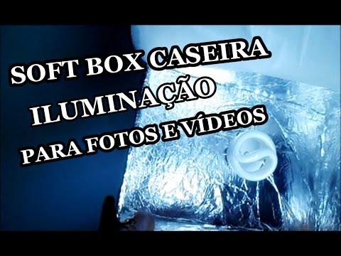 SOFT BOX Caseira,Iluminação para Fotos e Vídeos,Faça em Casa Gastando Menos d 20R$