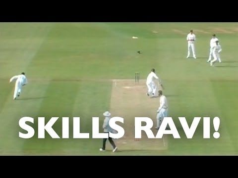 Ravi Bopara shows his skills with a textbook flick out of the back of his hand to run out Rory Burns! SUBSCRIBE for more! We'll Send you lots more England cr...