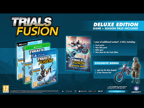 Multiplayer competition - Trials Fusion trailer [UK]
