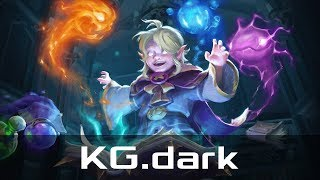 KG.dark — Invoker, Mid Lane (Jul 21, 2019) | Dota 2 patch 7.22 gameplay