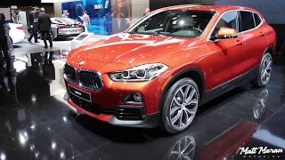 2018 BMW X2 Close-Up Look! 2018 NAIAS