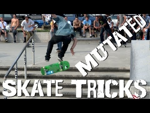 MUTATED Skate Tricks @ Portland - Volcom Wild in the Parks
