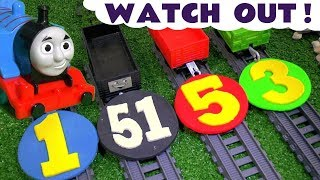 Thomas and Friends Toy Trains for Kids with Play Doh Numbers Train Accidents Minions & Mashems TT4U