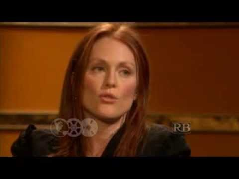 Julianne Moore with Prof. Richard Brown