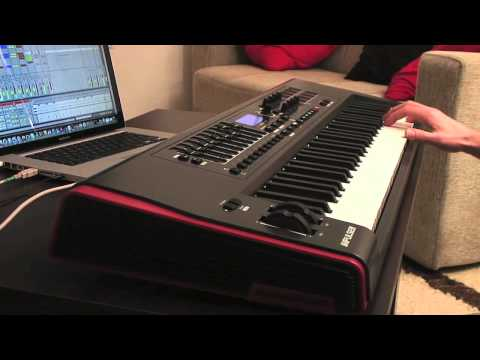 Novation Impulse MIDI Controller - Features Live Demo