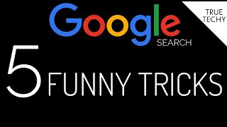 5 Amazing Google Search Fun Facts, Funny Tricks, Everybody Must Know, Google Search Prank