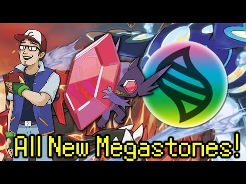 All New Pokémon Oras Megastone Locations! video