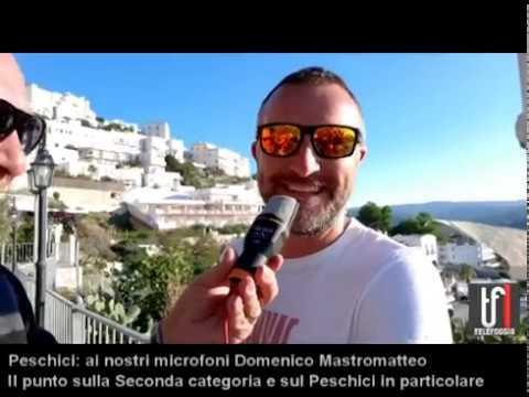 VIDEO. Peschici: Domenico Mastromatteo analizza il campionato e da il benvenuto al Trinitapoli