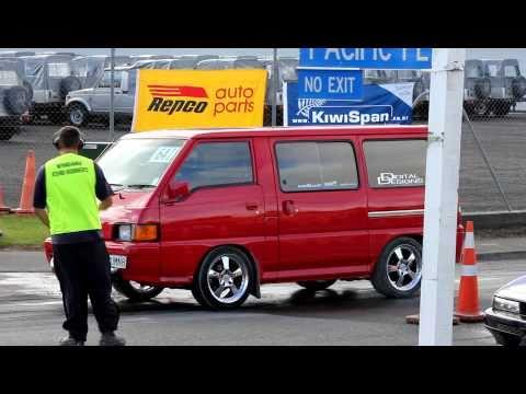 Auto Racing Results on Mitsubishi L300 Vr4 Turbo Dragracing Wanganui 17 4 11