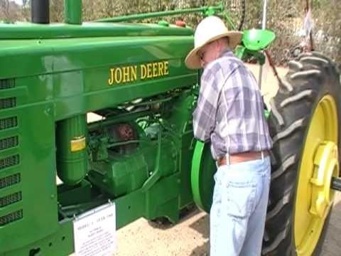 Starting A 1944 John Deere Model A