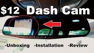 Random Reviews Ep. 67: $12 Ebay Mirror Dash Cam