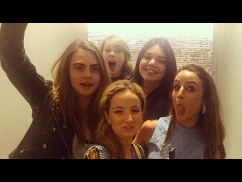 Taylor Swift & Kendall Jenner New BFFs Party with Cara Delevingne