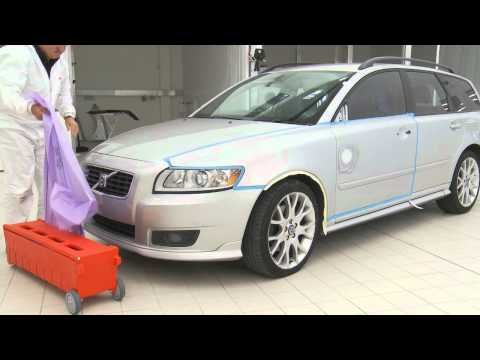 Car Masking by 3M [Step 3]
