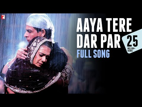 Aaya Tere Dar Par - Full Song | Veer-Zaara | Shah Rukh Khan | Preity Zinta