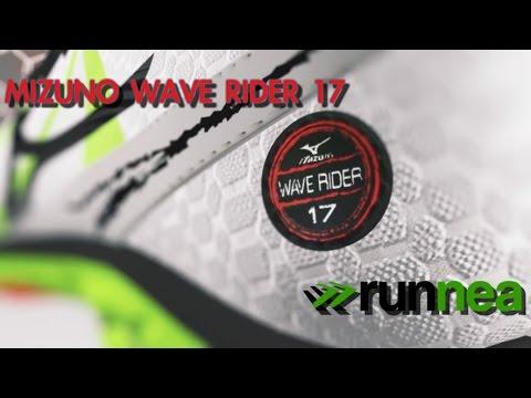 Mizuno Wave Rider 17: Una de las zapatillas de amortiguación más ligeras del mercado