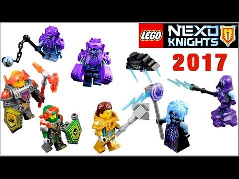 LEGO Nexo Knights 2017 наборы Монстрокс. Боевые доспехи Нексо Рыцари