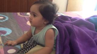 Funny Cute Indian baby