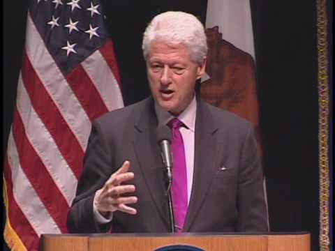 President Bill Clinton - Global Citizenship: Turning Good Intentions into Positive Action
