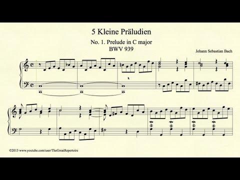 Бах Иоганн Себастьян - Little Prelude In C Major