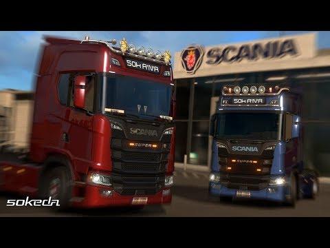 [ETS2 v1.30] 50keda Addons for New Scania Generation v2.1