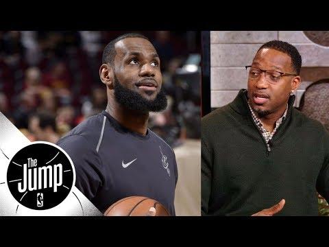 Tracy McGrady doesn't think LeBron James will break Kareem Abdul-Jabbar's record   The Jump   ESPN thumbnail