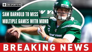 Darnold sidelined by mono, out for Monday night matchup vs Browns and likely longer | CBS Sports HQ