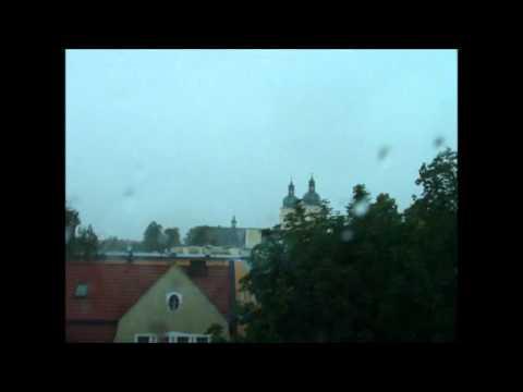 Burza Nad Piłą | Storm Over Piła 11.07.2012 | Schelf Cloud