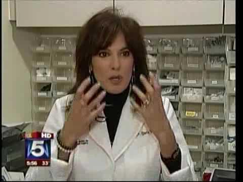 Candela Vbeam rosacea treatment on Fox news on February 2, 2010