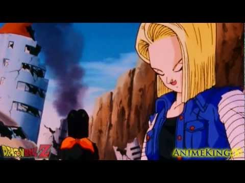 Future Trunks vs The Androids (PT 1) (HD)