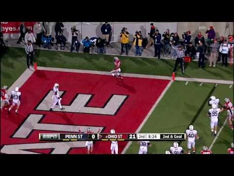 2013 Penn State at Ohio State Football Highlights.